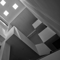main lobby Olympic hotel in Izvorani , Ilfov county Romania light and shadow study of architect Bogdan TOFAN