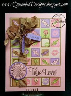 A Jillian Vance Design: True Love Valentine  Treat by Denise Speigle