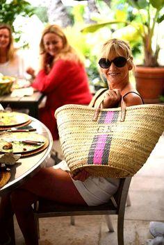 Items similar to straw bag Handmade French Basket Moroccan Basket french market basket, Beach Bag - Natural Basket long Flat Leather Handle on Etsy Bamboo Basket, Art Bag, Jute Bags, Leather Handle, Basket Weaving, Straw Bag, Rae Feather, Handmade, Bag Design