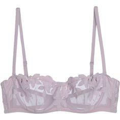 La Perla Bra ($160) ❤ liked on Polyvore featuring intimates, bras, lilac, balconette bra, la perla bra, balcony bra, shelf bra and la perla
