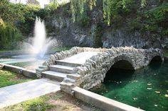 Huntington Sunken Gardens by Indiana Landmarks, via Flickr