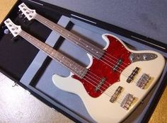 Hembry Custom Double Neck Jazz Bass