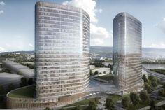 BRATISLAVA | Projects and Construction Updates XXII | 2016 - SkyscraperCity Bratislava, Skyscraper, Multi Story Building, Construction, Gardens, Interiors, Decoration, Projects, Building