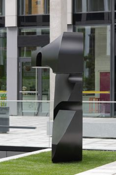 The following sculpture is 3 different numbers depending on your perspective.