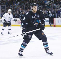 San Jose Sharks Joe Pavelski