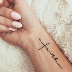 The 20 Best Faith Tattoos for You | InkDoneRight    When the world seems like a dark and unforgiving place, faith is what gets us by. Faith Tattoos is a great way to sure to remind you that you will…