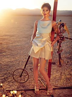 Liu Wen Travels With the Circus for Vogue Australia's March Issue by Will Davidson | Fashion Gone Rogue: The Latest in Editorials and Campaigns