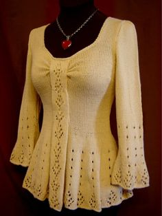 Evangeline Tunic Knitting Pattern
