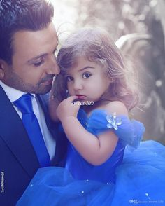 Cinderella Flower Girl Dresses 2017 Royal Blue Pageant Dress for Girls , First Communication Gowns ,Butterfly Flower Girls Dress with Crystals ,Kid Gowns,Said Mhamad Dresses Father Daughter Photos, Dad Daughter, Father Daughter Photography, Toddler Pageant Dresses, Girls Dresses, Said Mhamad Photography, Kids Gown, Jung So Min, Wedding Flower Girl Dresses