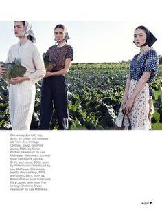 'Simple Pleasures' by Nicole Bentley For Marie Claire Australia October 2013 3
