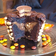 Today I will share the craziest, most delightful thing I have made. After talking about serious stuff like getting your colourful veggies, and portion sizes, I have to mix things up! This cake tastes like a 75% dark chocolate flourless chocolate cake, crossed with a peanut butter cup. It has... Read More →