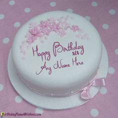 9 Best Happy Birthday Cakes For Sister With Name Images