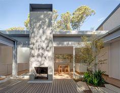 Panovscott rearranges Sydney cottage around a central courtyard garden