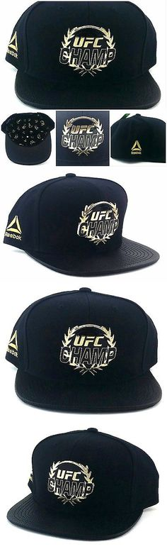 Mixed Martial Arts MMA 177913: Ufc Reebok New Mma Limited Champ Gold Metal Black Leather Era Strapback Hat Cap -> BUY IT NOW ONLY: $49.99 on eBay!