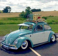 Vintage Bug looking for a weekend getaway
