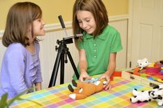 Rainy Day Fun: Simple Stop Motion Animation with Kids great tutorial to make a stop motion video