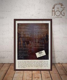Edward Sharpe and The Magnetic Zeros - Home - Polaroid Inspired Lyrics Poster -  Customizable by HogArtDesign on Etsy