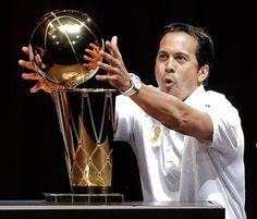 NBA champion Miami Heat head coach Erik Spoelstra