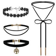 Flongo 4 Stück Velvet Samt Spitze Leder Halskette Lederke... https://www.amazon.de/dp/B073XL6Z67/ref=cm_sw_r_pi_dp_x_aJBCzbKK0561Z