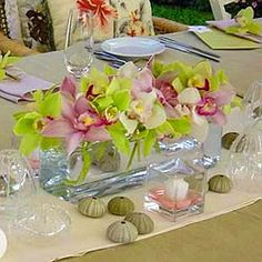 pink orchid centerpieces | Table piece « Bollea – Floral Design Gallery
