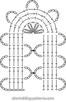 Learn How to Crochet Bruges Lace Filet Crochet, Crochet Lace Edging, Crochet Motifs, Crochet Diagram, Crochet Stitches Patterns, Crochet Chart, Lace Patterns, Irish Crochet, Knitting Patterns
