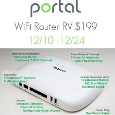 Portal WiFi Router Giveaway {US} (12/24/2016) via... sweepstakes IFTTT reddit giveaways freebies contests