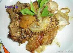 Żeberka w musztardzie Pork, Beef, Kale Stir Fry, Meat, Pork Chops, Steak