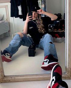 Tomboy Fashion, Teen Fashion Outfits, Edgy Outfits, Retro Outfits, Mode Outfits, Cute Casual Outfits, Streetwear Fashion, Casual Shoes, Mens Fashion