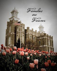 Logan Utah LDS Temple INSTANT digital download by ThurgoodDesign