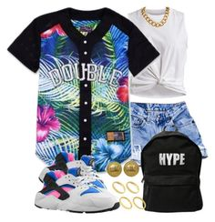 Untitled #1313 by power-beauty on Polyvore featuring polyvore, fashion, style, VILA, ASAP, Chanel, ASOS and NIKE