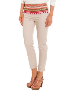 Another great find on Beige Ankita Crop Pants Cropped Pants, Khaki Pants, Refashion, Capri Pants, Beige, Shorts, February 2016, Clothes, Summer