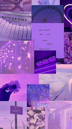 Wallpaper aesthetic purple