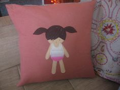 A Paper Doll Pillow : :