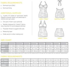 Bombshell swimsuit. PDF sewing pattern for vintage style suit. Maillot, halter neck and high waisted bikini.