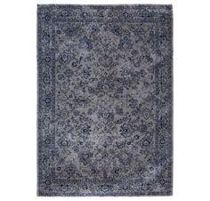 Fading World Agra Sur - 8950 Slate / Blue Rugs | Modern Rugs