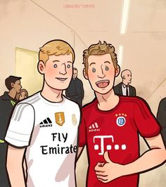 Toni & Thomas. Audi Cup 2015