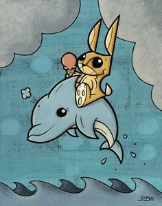 Bi-polar Bunny #2