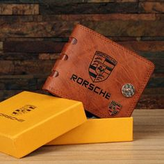 Redeem this Stunning Men's Brown 3 Fold Geniune Leather Wallet  for FREE only on LooksGud.in #LooksGudReward #MenWallet