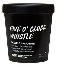 Five O'Clock Whistle Shaving Smoothie - bring out the best in your skin.