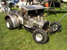 Custom Wagon From A Wheel Barrow Body Into A T Bucket One