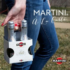 Bring your own cocktail? Pack these tote-able MARTINI minis as the perfect party accessory.