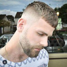 nicholas_the_greek short hair trends for men crop fade Short Beard, Short Hair Cuts, Short Hair Styles, High Fade Haircut, Crop Haircut, Short Hair Trends, Mens Hair Trends, Easy Mens Hairstyles, Haircuts For Men