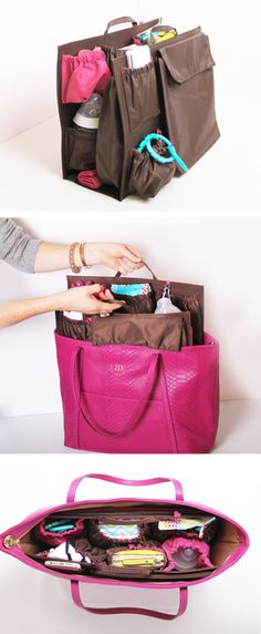 Turn any tote into a designer diaper bag