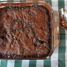 An old-fashioned Southern dessert that's part brownie, part cobbler crust and part fudge sauce. It's easy to make and it's delicious! Easy Chocolate Desserts, Chocolate Treats, Homemade Desserts, Easy Desserts, Baking Desserts, Southern Desserts, Southern Recipes, Sweet Recipes, Southern Food