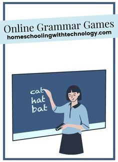These are games for elementary and middle schoolers Grammar Games, Teaching Grammar, Grammar And Vocabulary, English Fun, English Grammar, Internet Safety For Kids, Kindergarten, Middle Schoolers, Kids Online