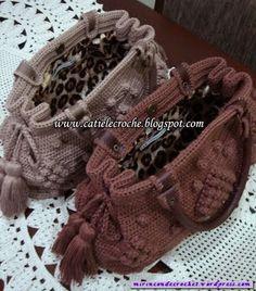 Esta vez …una cartera con personalidad   Mi Rincon de Crochet