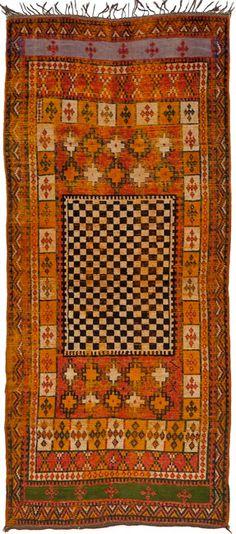 Morocco wool rug c. 1930