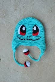 Image result for pokemon crochet hats