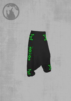 ORION unisex pants with two inside pockets on the left side and on the right side [with no pockets for womens] neon vinyl or Reflect 67oN3B