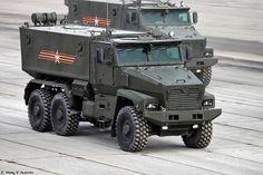 Typhoon-U MRAP vehicle
